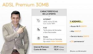 Oferta internet por VDSL hasta 30 Mb de Jazztel