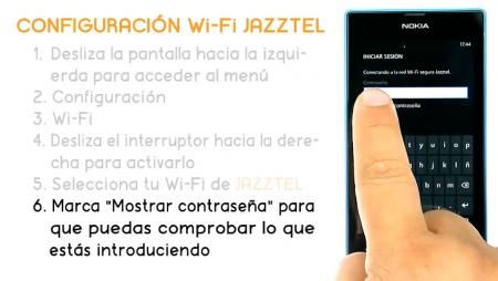 Cómo conectar tu Nokia Lumia 520 a la Wi-Fi de Jazztel