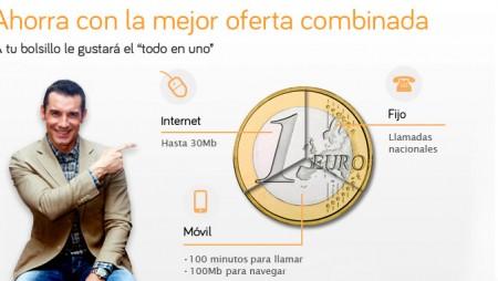 Pack Ahorro 100 de Jazztel con ADSL, fijo y móvil a precio de ADSL
