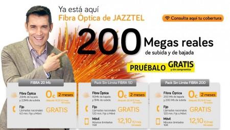 Jazztel alcanza los 2,2 millones de hogares pasados de fibra óptica