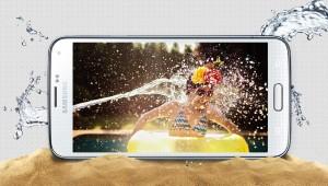 Funcionalidad impermeable del Samsung S5