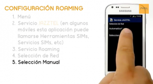 Tutorial Roaming Jazztel