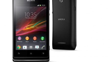 Llévate el smartphone Sony Xperia E gratis con Jazztel