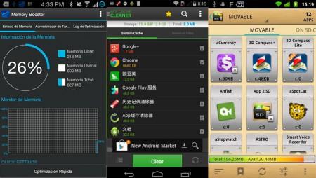 Aprende a optimizar tu móvil: te recomendamos las mejores aplicaciones