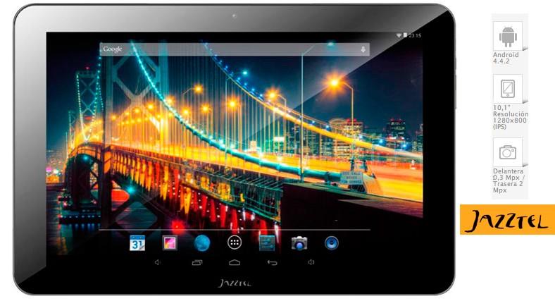 Jazztel lanza su propia tablet a 0 euros con sus Packs Ahorro