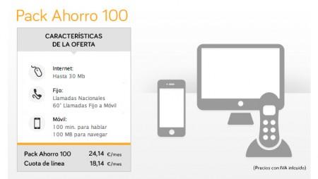 Jazztel actualiza su Pack Ahorro 100 con 60 minutos adicionales gratis a móvil