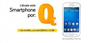 Móvil 0€ de Jazztel: Samsung Galaxy Trend Lite