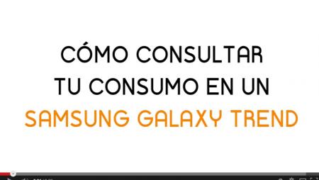 ¿Cómo consultar el consumo de datos en tu Samsung Galaxy Trend?