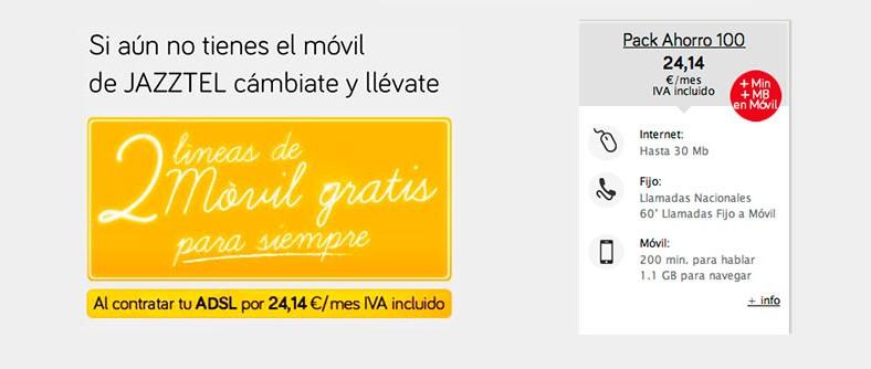 Jazztel arrasa en portabilidades móviles con su promesa de ahorro de 200 euros al año