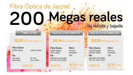 Jazztel asume la penalización de otros operadores también en Fibra Óptica
