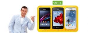 Sony Xperia E1 gratis con Jazztel