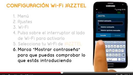 Cómo conectar tu Samsung Galaxy 5 al Wi-Fi de Jazztel