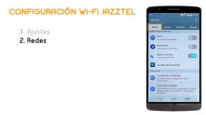 Cómo conectar LG G3 a la Wi-Fi de Jazztel