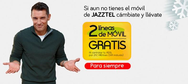 Jazztel lidera las portabilidades móviles en 2014 gracias a sus packs ahorro