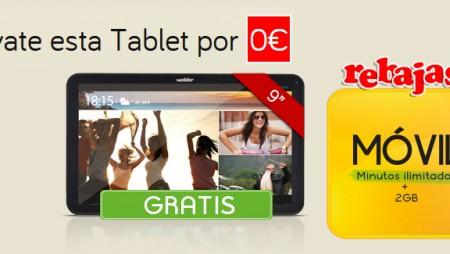 Las rebajas llegan a Jazztel: tablet gratis con tu ADSL y móvil