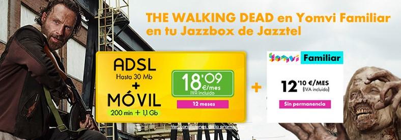 Este mes de febrero, los zombis llegan a Jazzbox de Jazztel