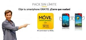 Ofertas de móviles de Jazztel