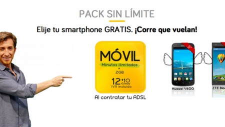 Huawei Ascend Y600, consíguelo a 0 euros con Jazztel