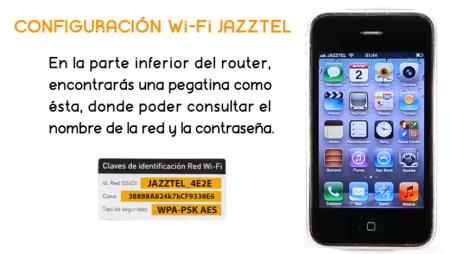 Cómo conectar un iPhone a la wifi de Jazztel