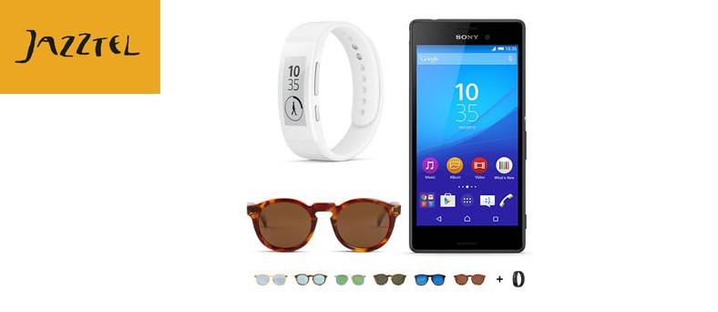 Estrena smartband y gafas Mr. Boho con el Sony Xperia M4