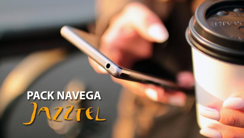 Pack Navega de Jazztel: 5 GB de datos para móvil