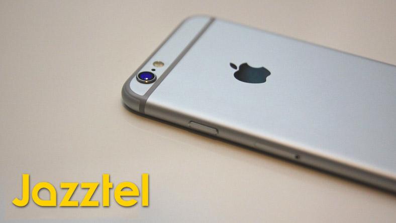 Ofertas de iPhone en el catálogo de Jazztel