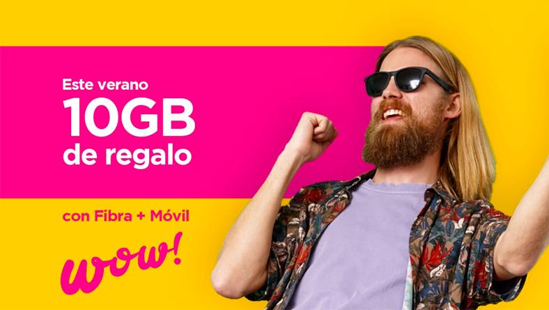 Jazztel regala 10 GB de datos extra a sus nuevos clientes