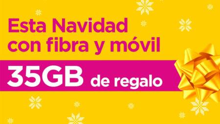 Oferta Navidad de Jazztel: 35GB de regalo