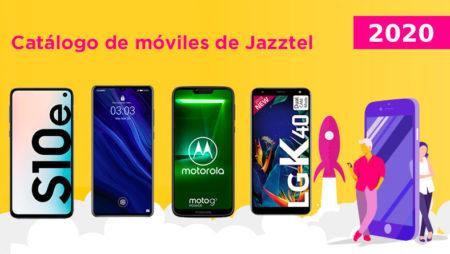 Catálogo de móviles Jazztel 2020